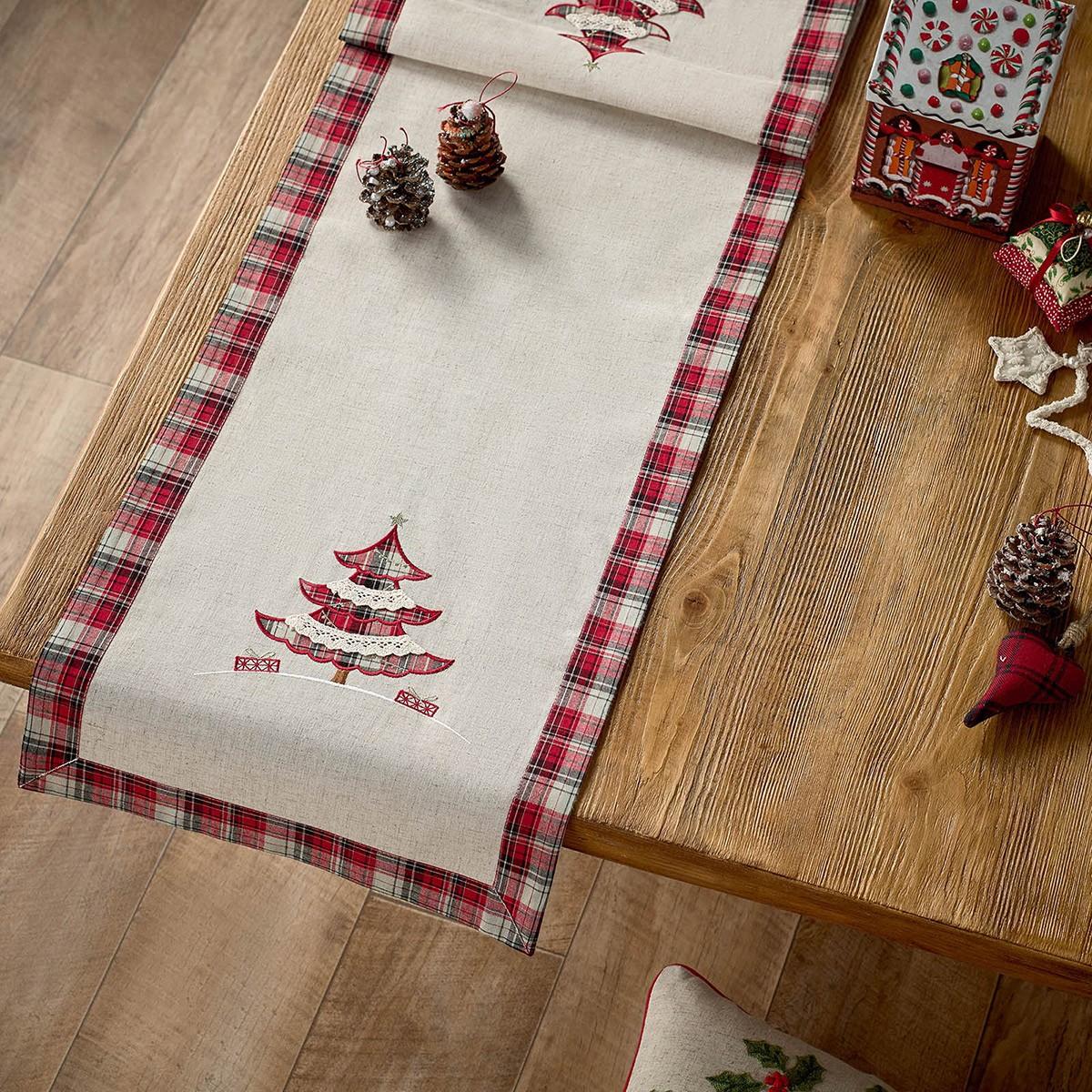Χριστουγεννιάτικη Τραβέρσα Gofis Home 686