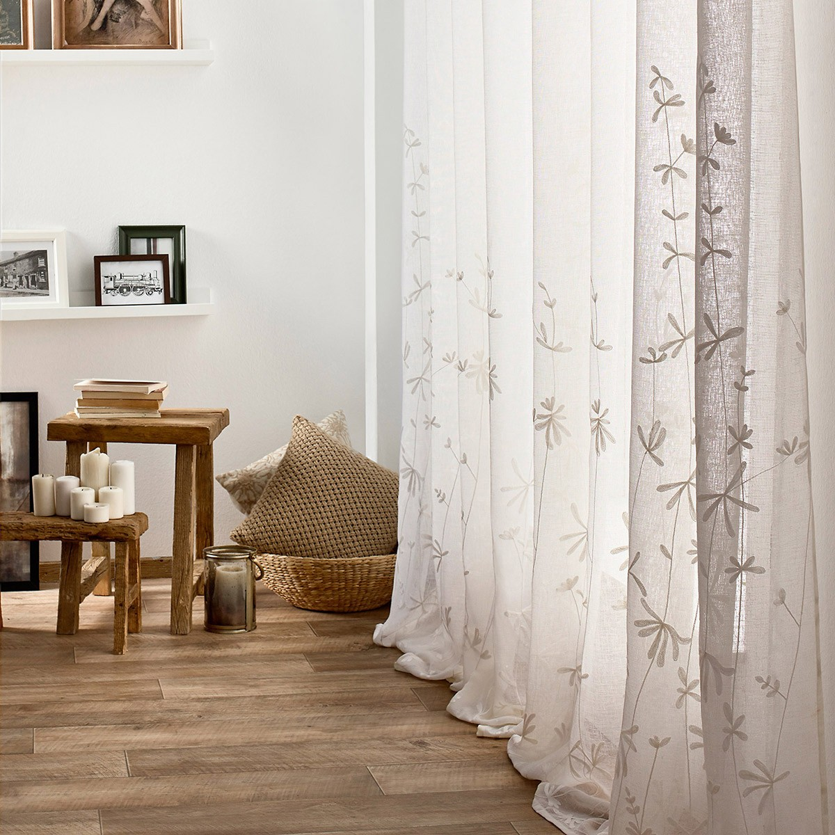 Κουρτίνα (140x280) Gofis Home Lisa Off White 545/16
