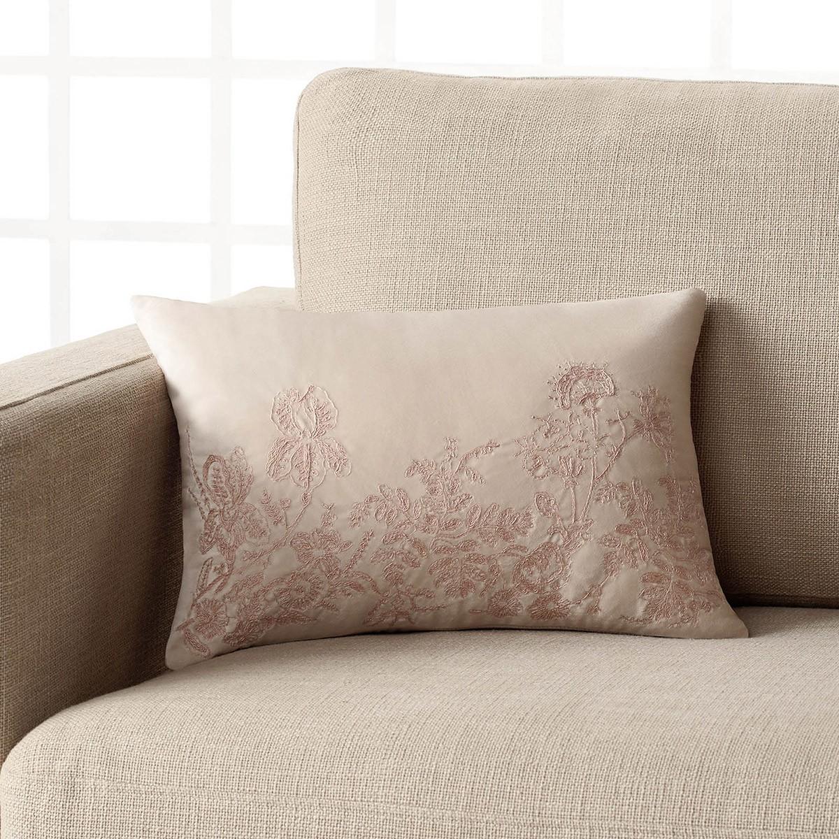 Διακοσμητική Μαξιλαροθήκη Gofis Home Eden Pink 544/05