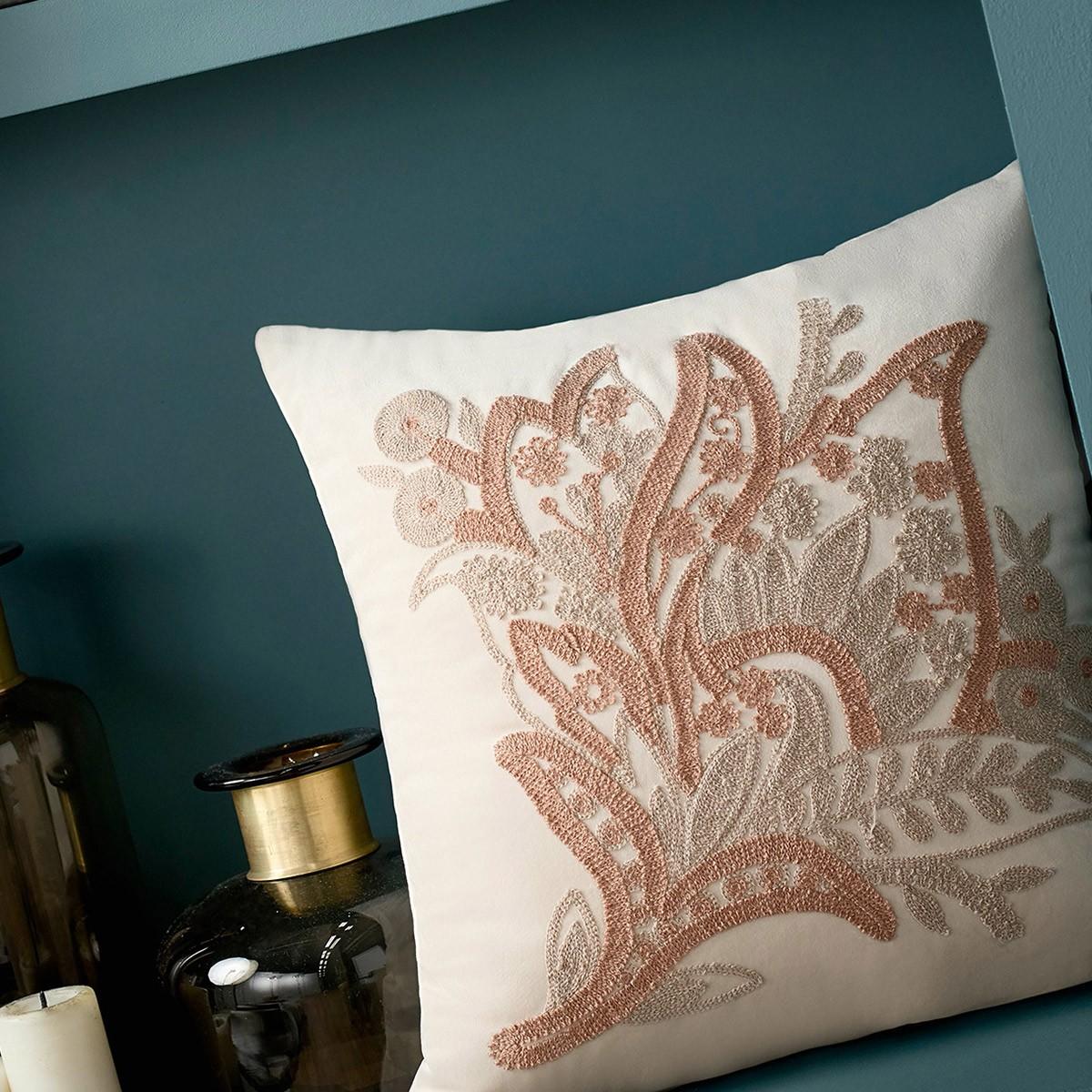 Διακοσμητική Μαξιλαροθήκη Gofis Home Lys Pink 545/05