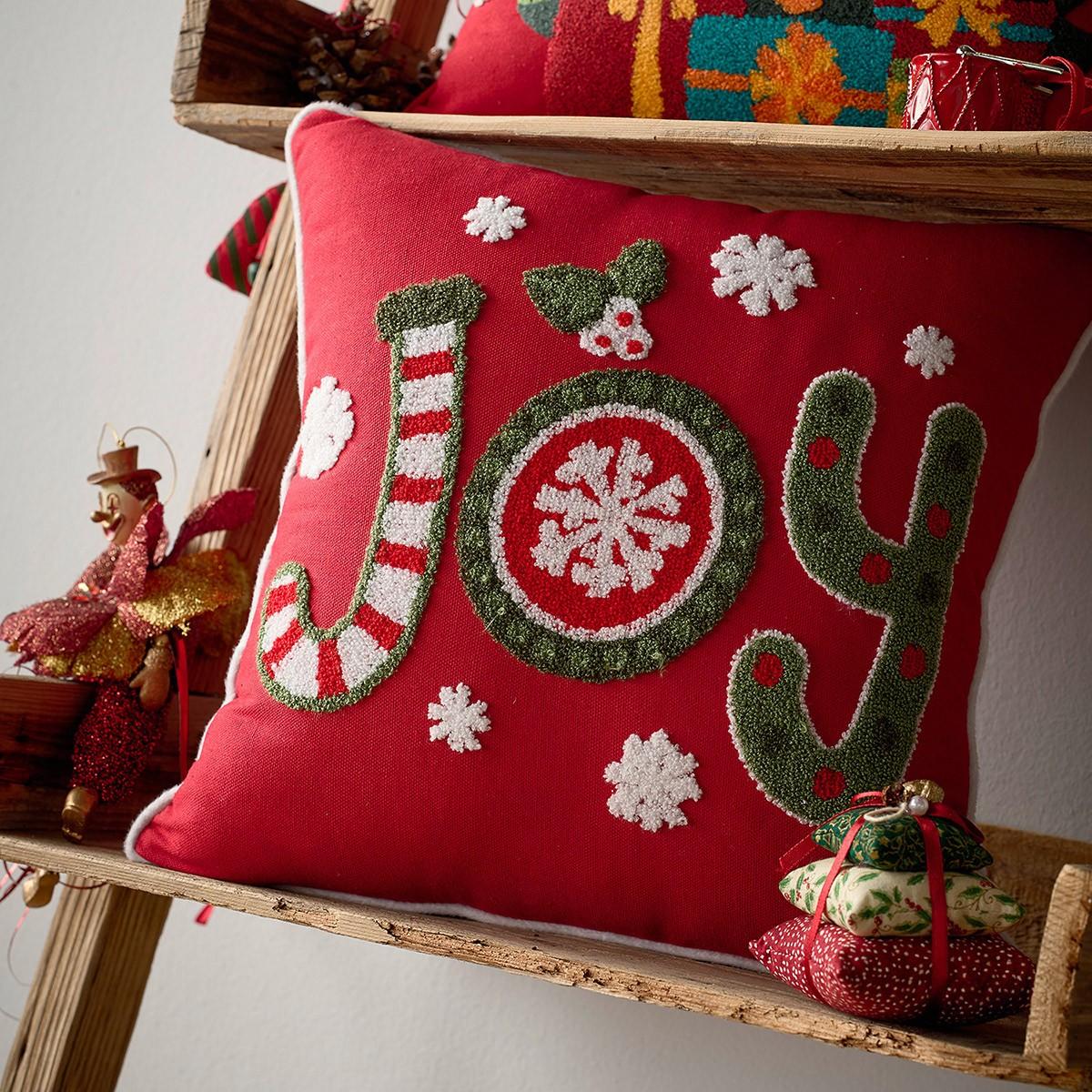 Χριστουγεννιάτικη Μαξιλαροθήκη Gofis Home 712