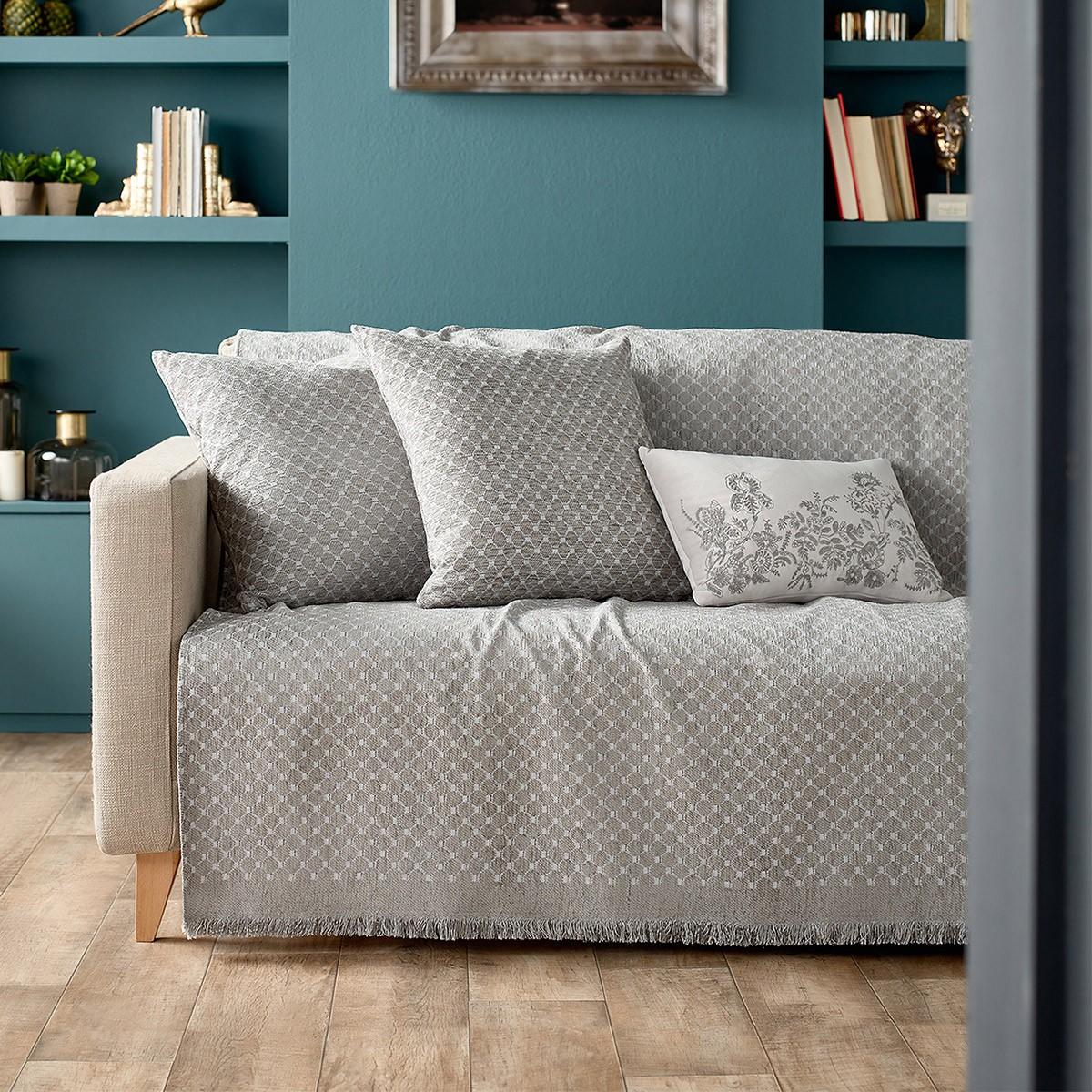 Ριχτάρι Διθέσιου (180x250) Gofis Home Essex Grey 763/15