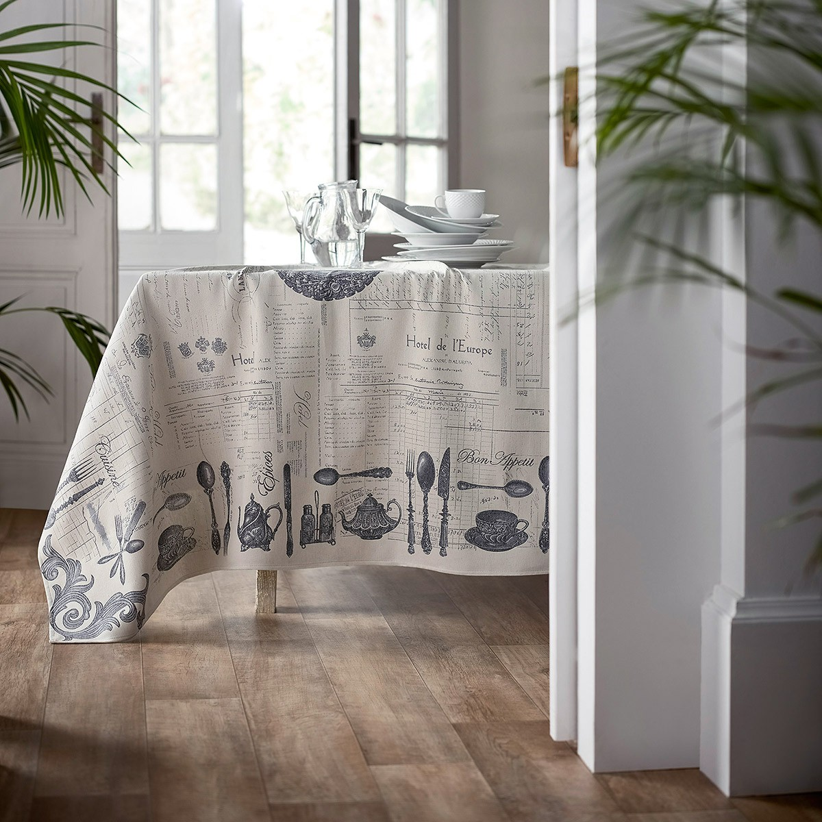 Τραπεζομάντηλο (135×135) Gofis Home Audette 468