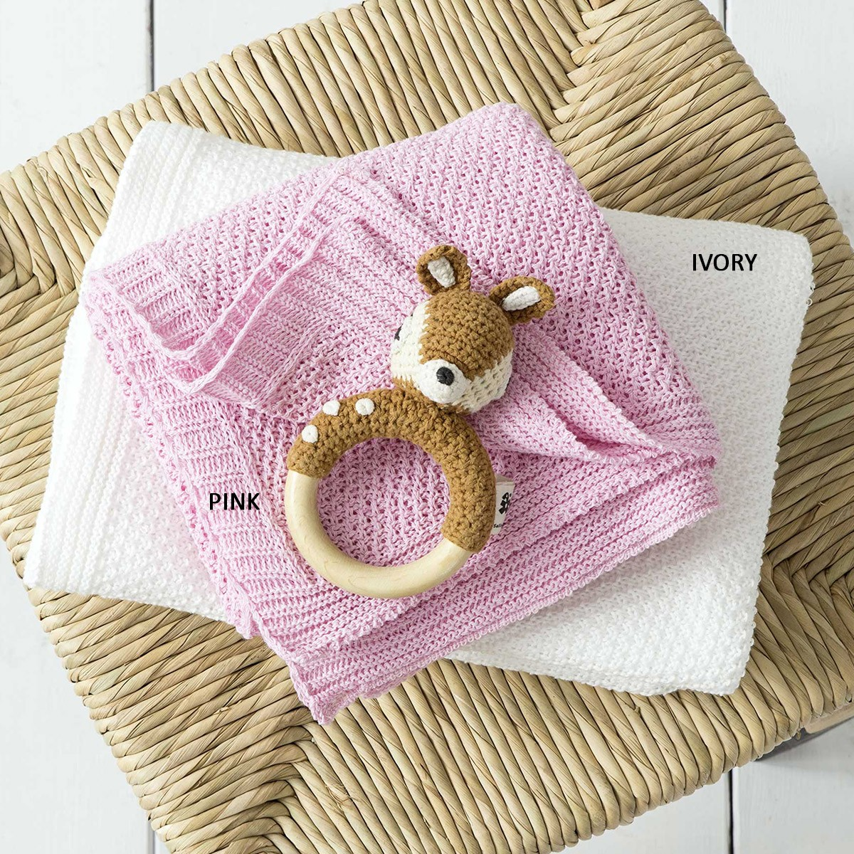 Κουβέρτα Πλεκτή Αγκαλιάς Nima Baby Cuddle 76978