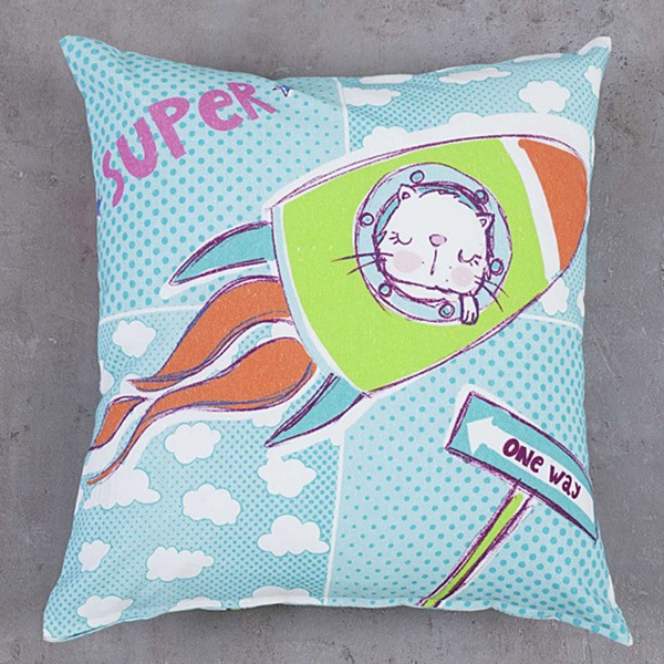 Διακοσμητική Μαξιλαροθήκη Nima Kids Cushion Bang
