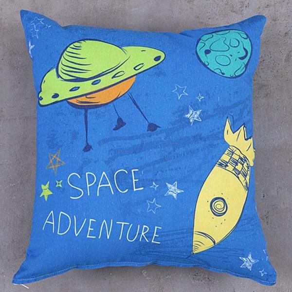 Διακοσμητική Μαξιλαροθήκη Nima Kids Cushion Space