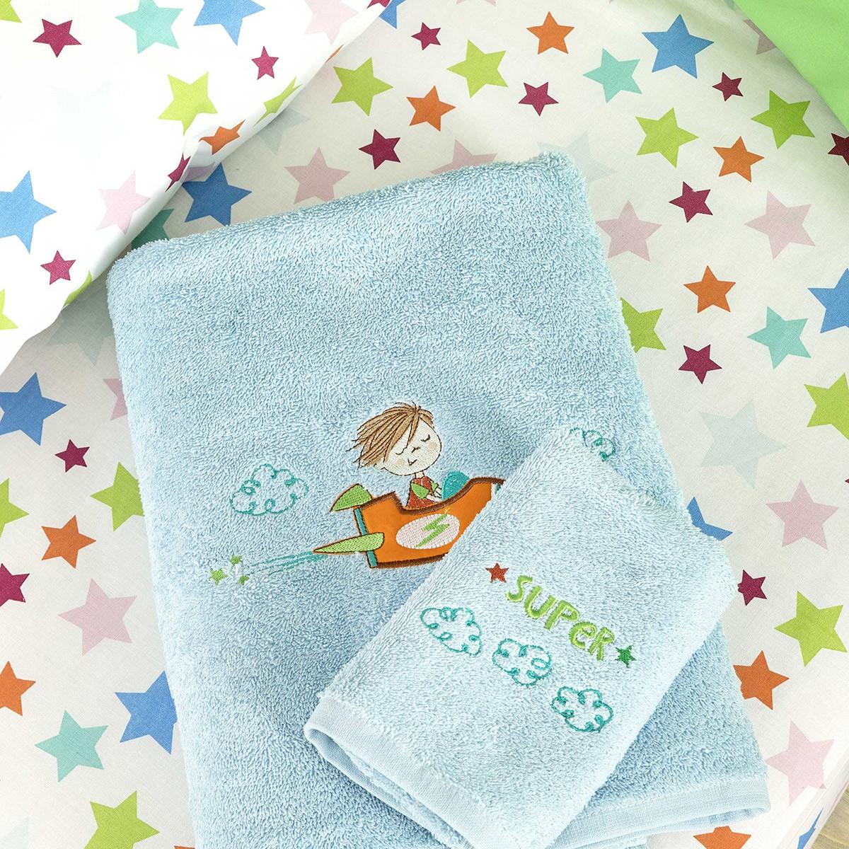 Παιδικές Πετσέτες (Σετ 2τμχ) Nima Kids Bang