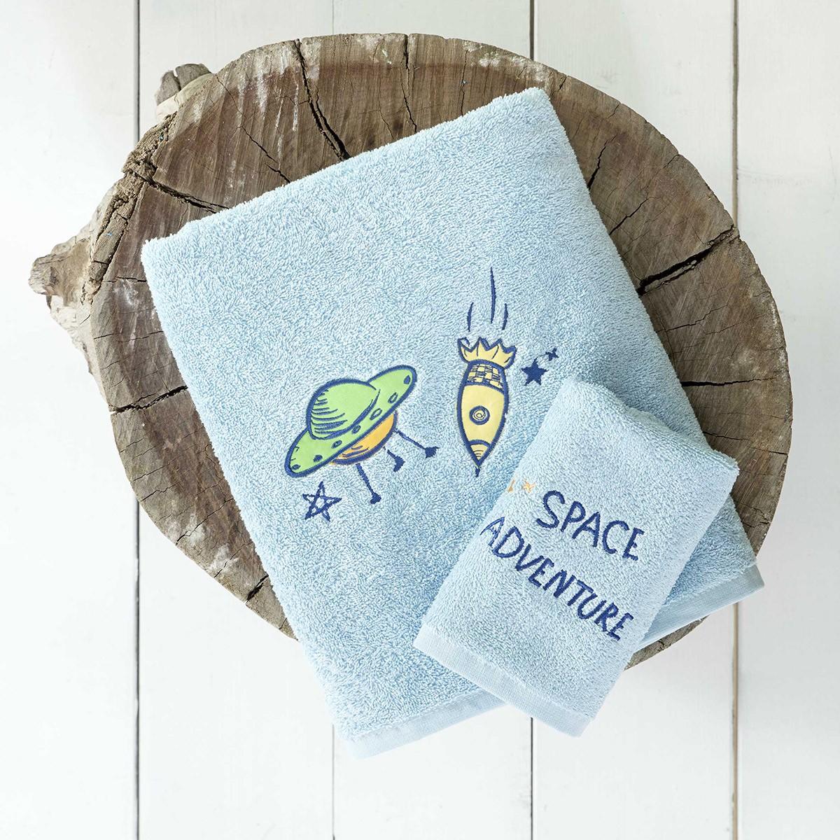 Παιδικές Πετσέτες (Σετ 2τμχ) Nima Kids Space