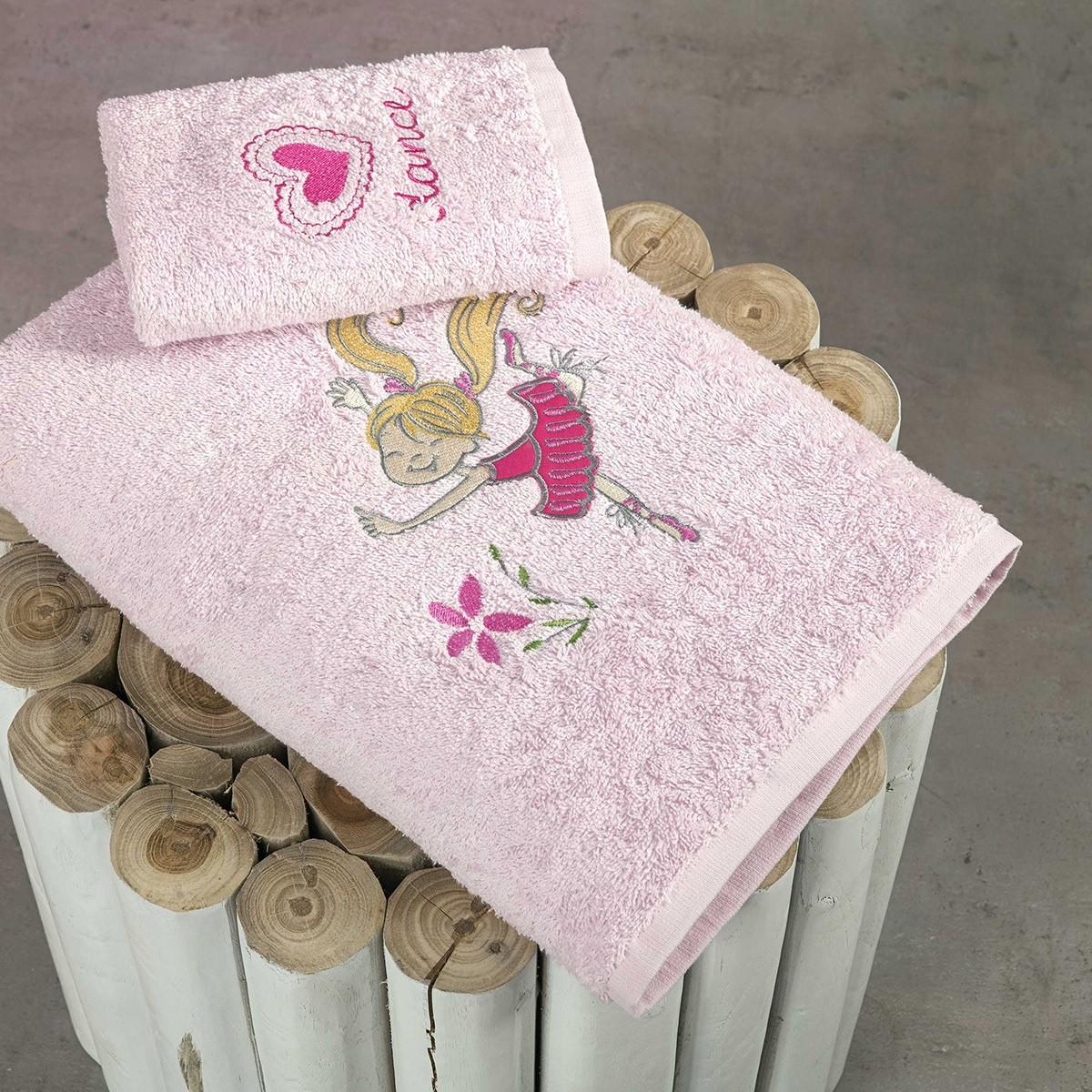 Παιδικές Πετσέτες (Σετ 2τμχ) Nima Kids Little Balarinas