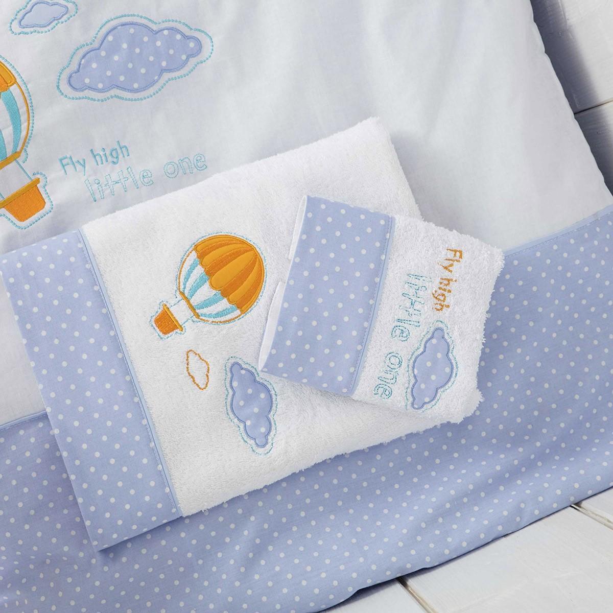 Βρεφικές Πετσέτες (Σετ 2τμχ) Nima Baby Air Baloon 77077