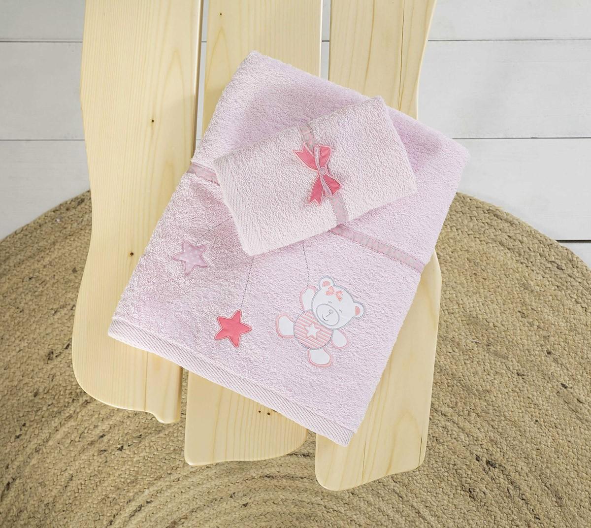 Βρεφικές Πετσέτες (Σετ 2τμχ) Nima Baby Tiny Bear