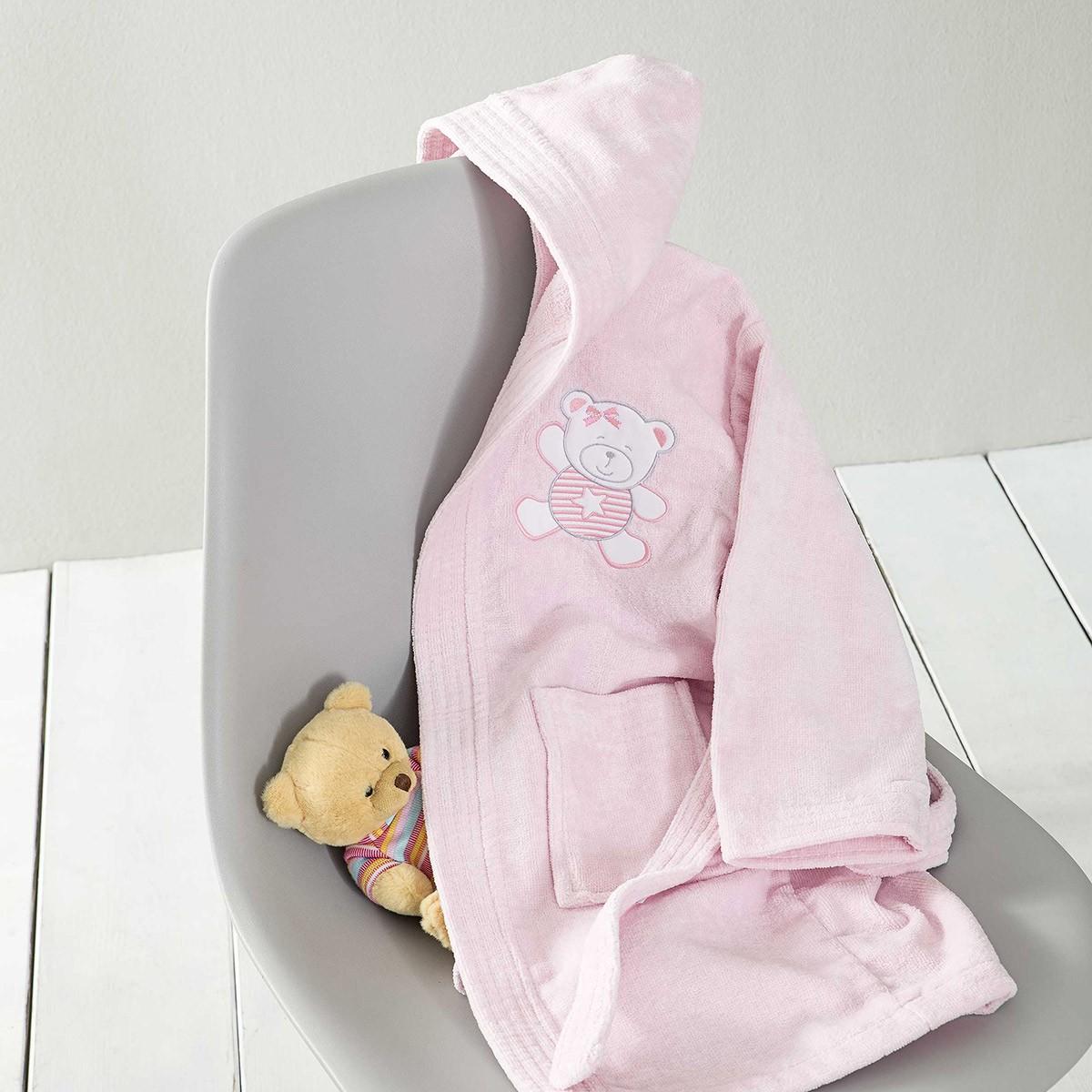Βρεφικό Μπουρνούζι Nima Baby Tiny Bear