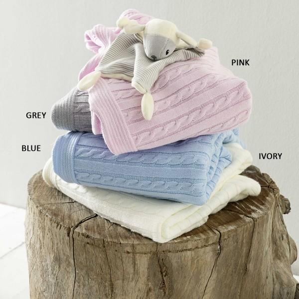 Κουβέρτα Πλεκτή Κούνιας Nima Baby Shipu