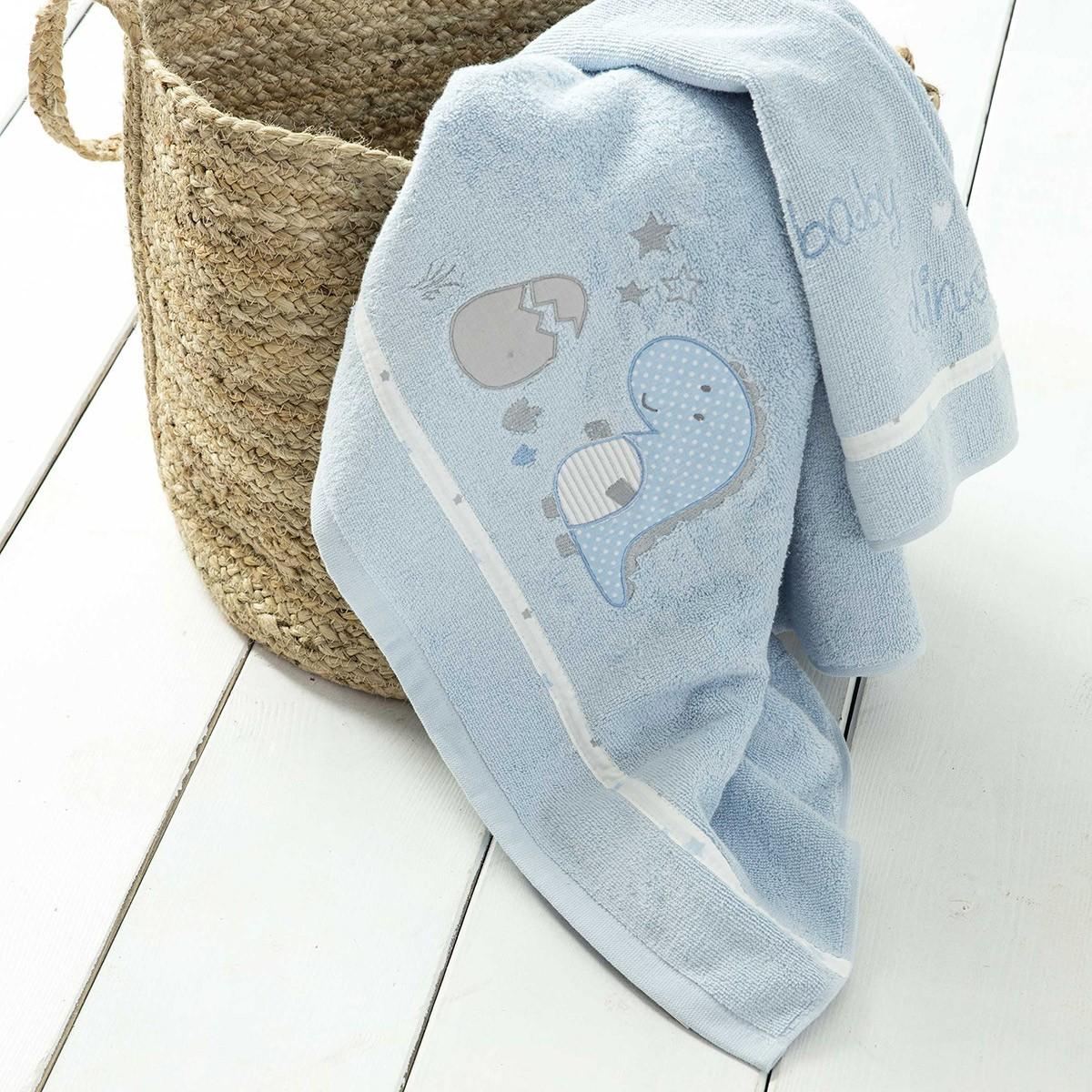 Βρεφικές Πετσέτες (Σετ 2τμχ) Nima Baby Dinos
