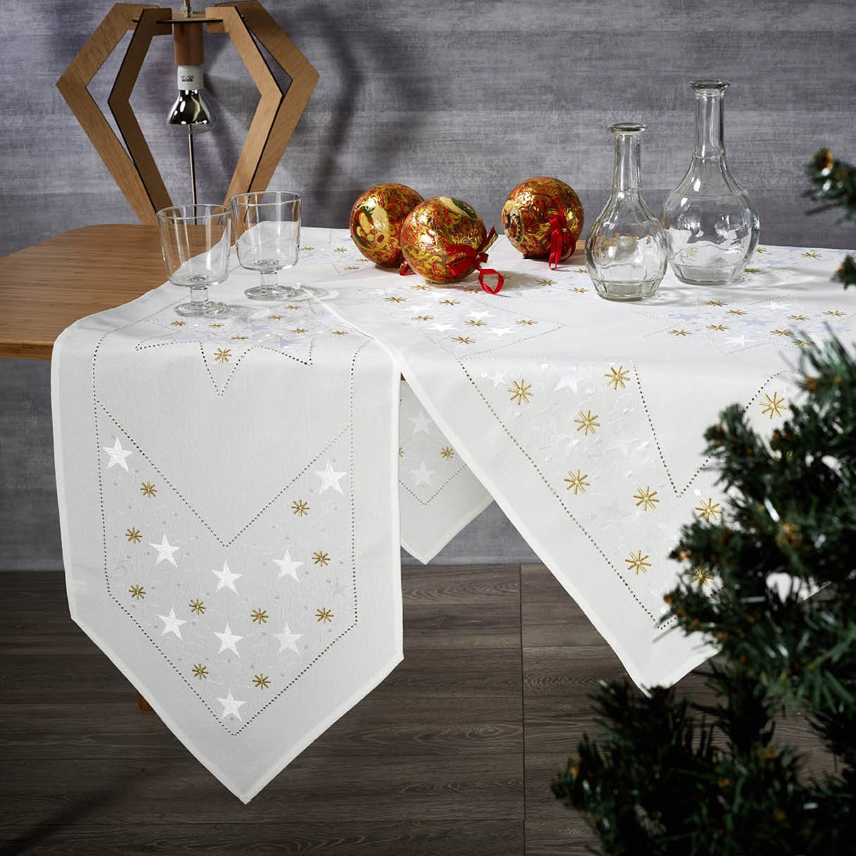 Χριστουγεννιάτικο Καρέ White Egg 41150/B