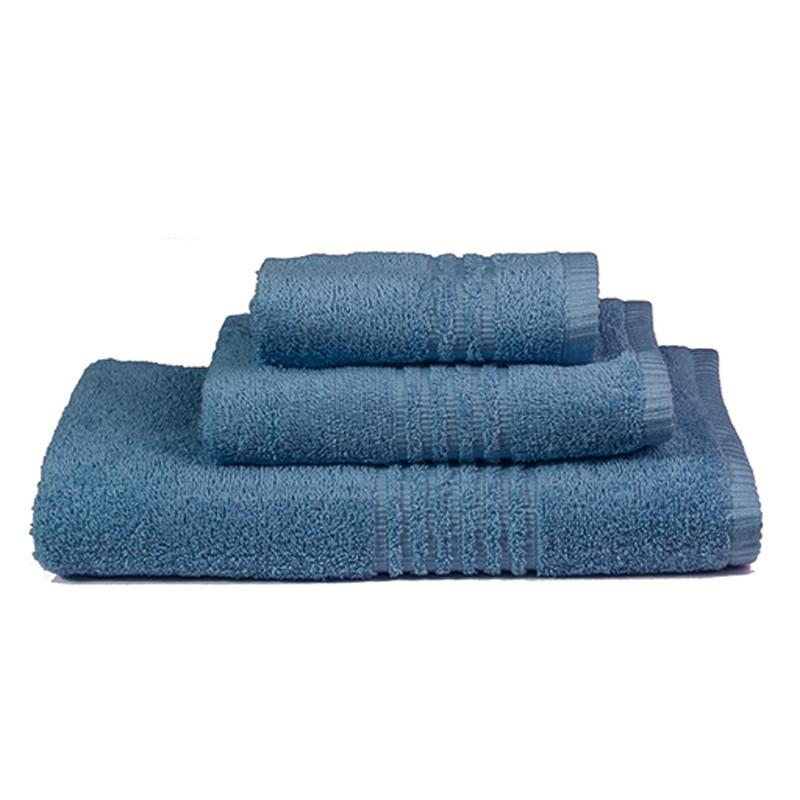 Πετσέτες Μπάνιου (Σετ 3τμχ) Nima Towels Savoia Blue
