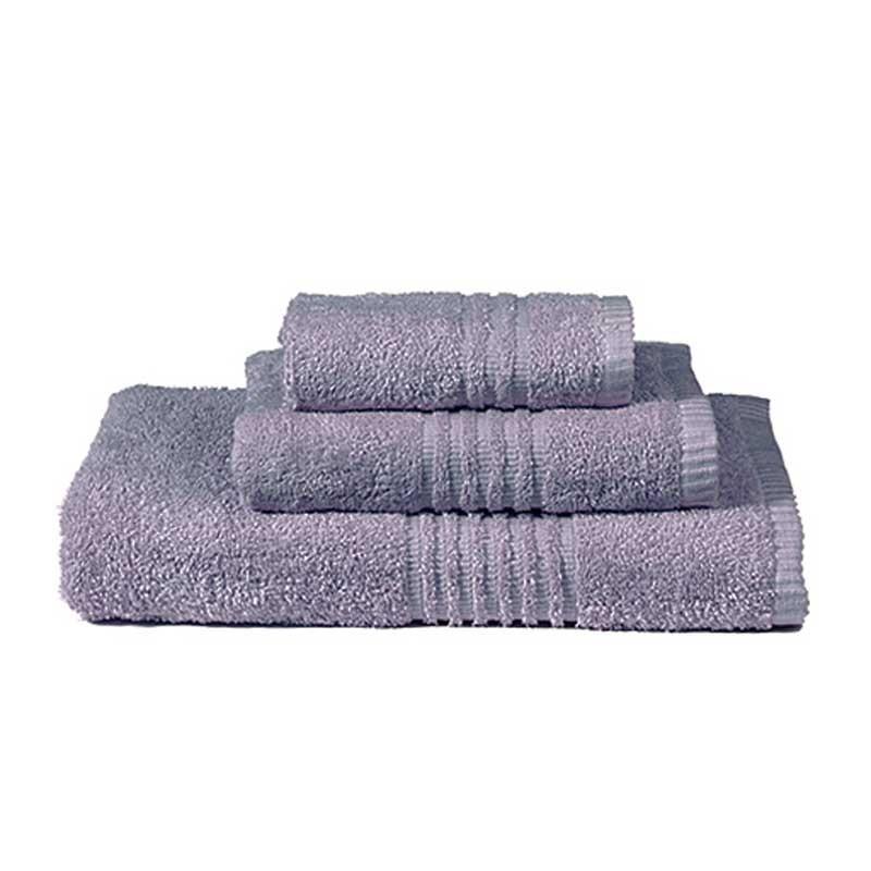 Πετσέτες Μπάνιου (Σετ 3τμχ) Nima Towels Savoia Purple
