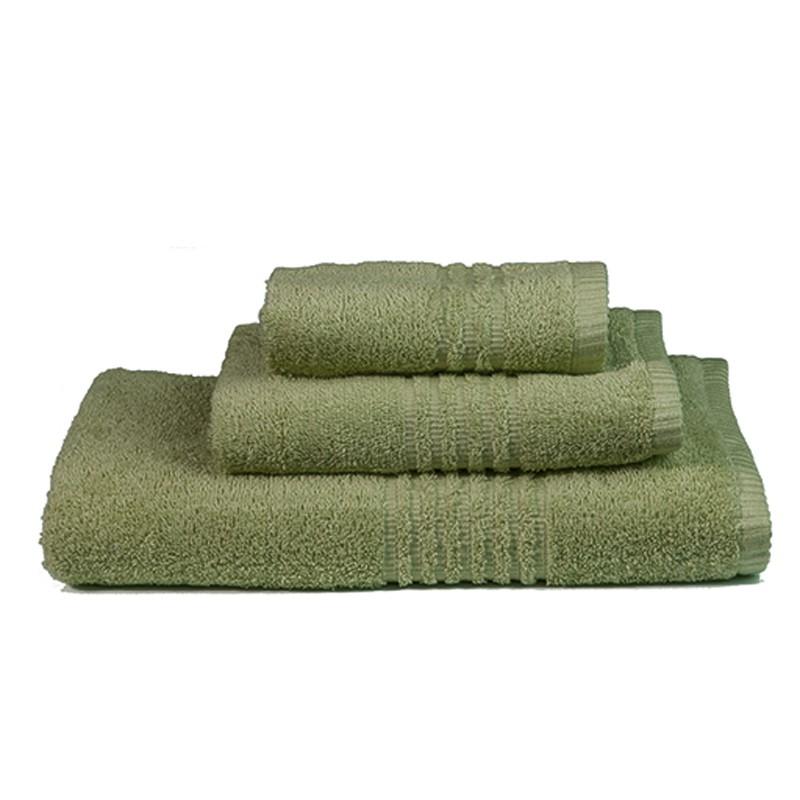 Πετσέτες Μπάνιου (Σετ 3τμχ) Nima Towels Savoia Green