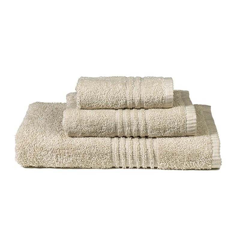 Πετσέτες Μπάνιου (Σετ 3τμχ) Nima Towels Savoia Beige
