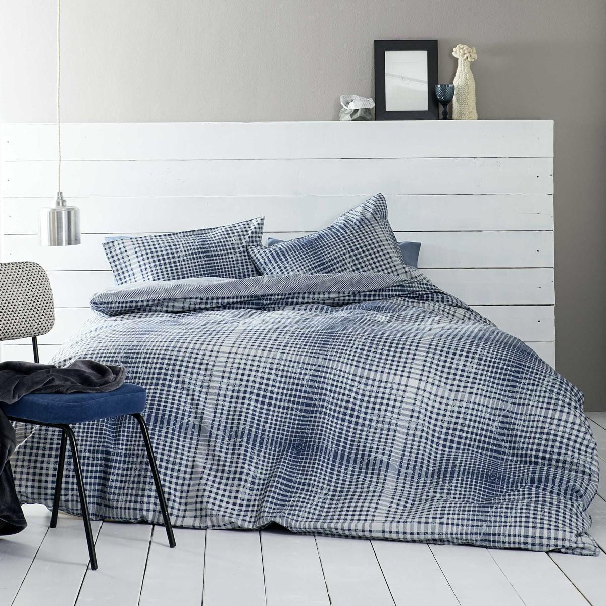 Παπλωματοθήκη Υπέρδιπλη (Σετ) Nima Bed Linen Ricardi Blue