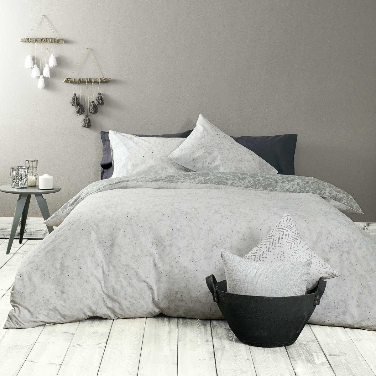 Πάπλωμα Μονό Nima Bed Linen Carara Grey