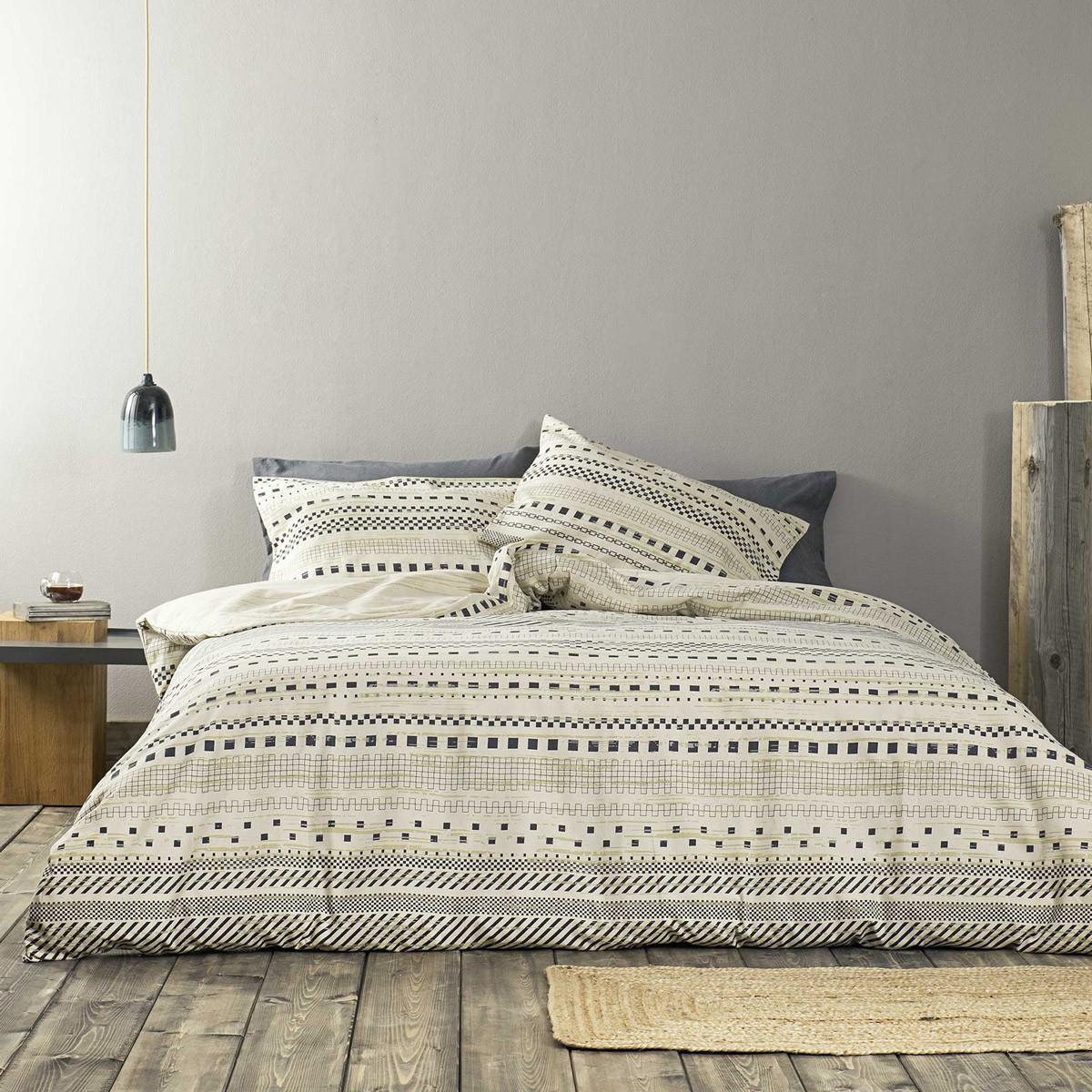 Φανελένια Σεντόνια Υπέρδιπλα (Σετ) Nima Bed Linen Arak