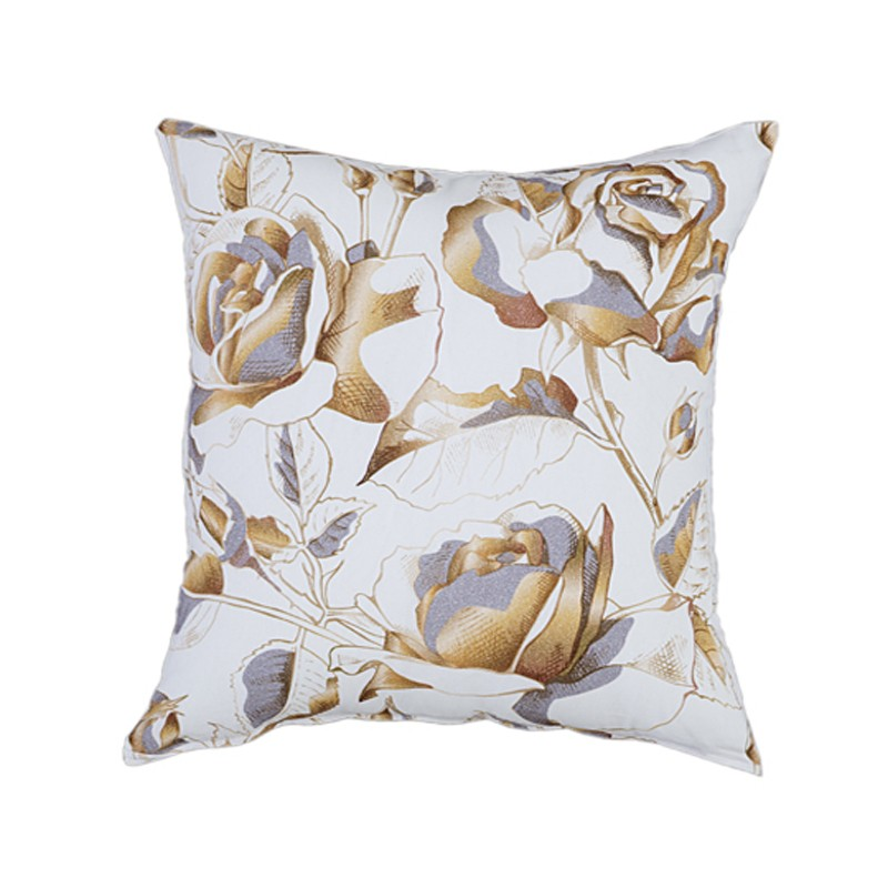 Διακοσμητική Μαξιλαροθήκη Nima Cushions Golden Rose