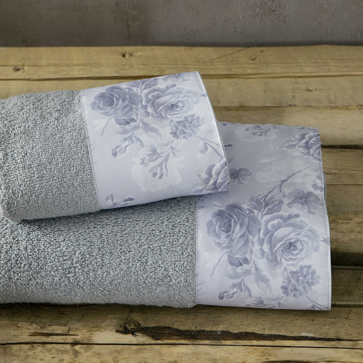 Πετσέτες Μπάνιου (Σετ 3τμχ) Nima Towels Carmen