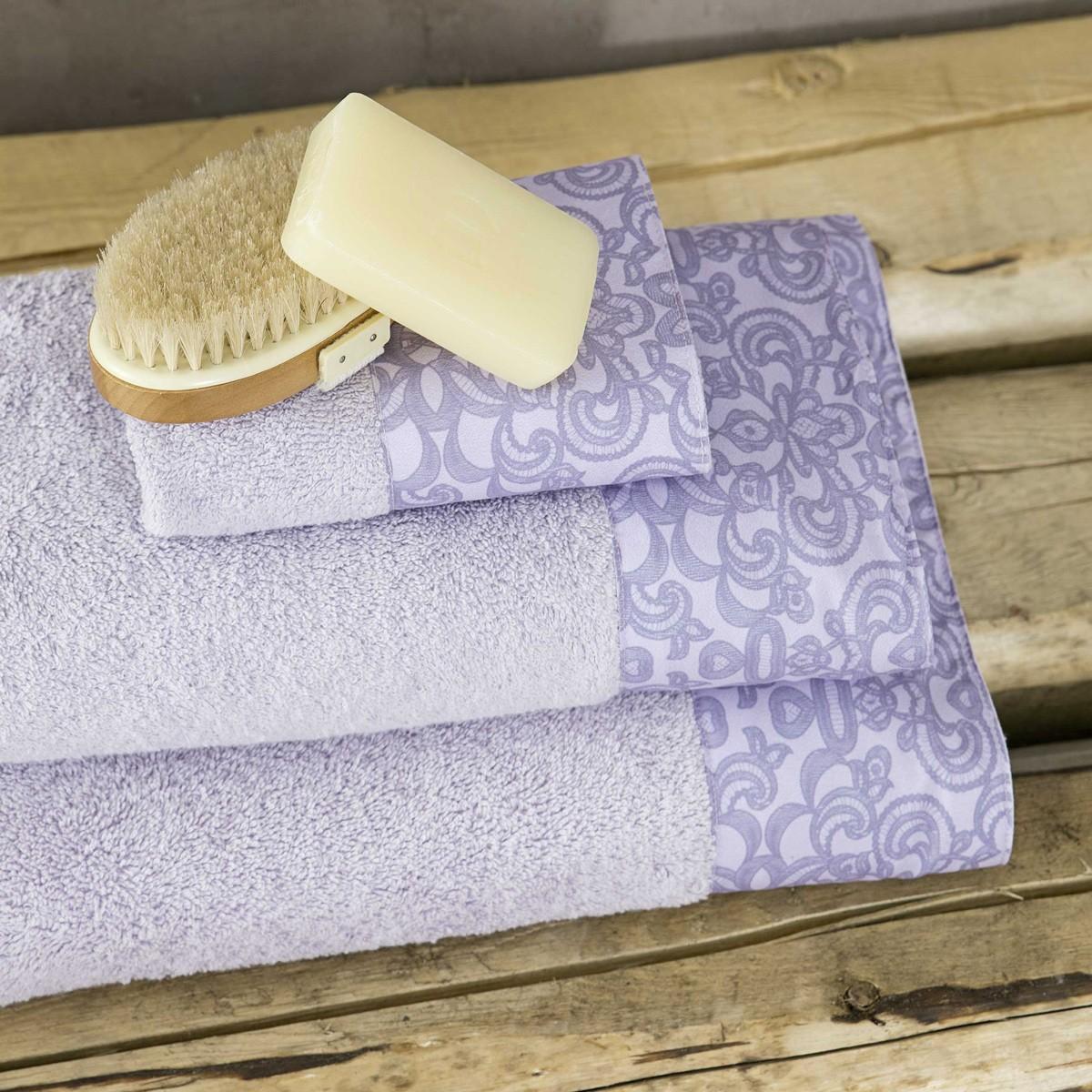 Πετσέτες Μπάνιου (Σετ 3τμχ) Nima Towels Edita