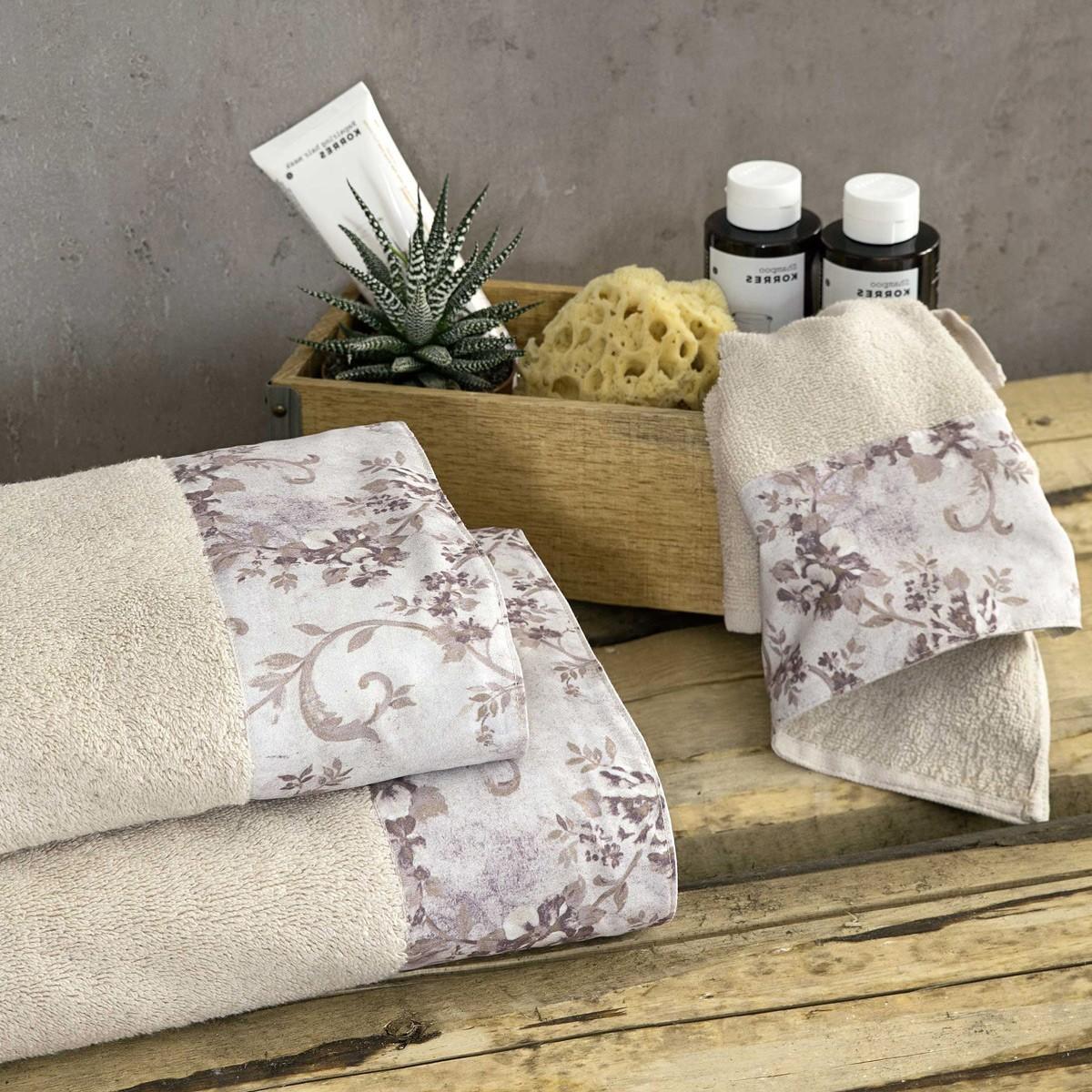 Πετσέτες Μπάνιου (Σετ 3τμχ) Nima Towels Segovia
