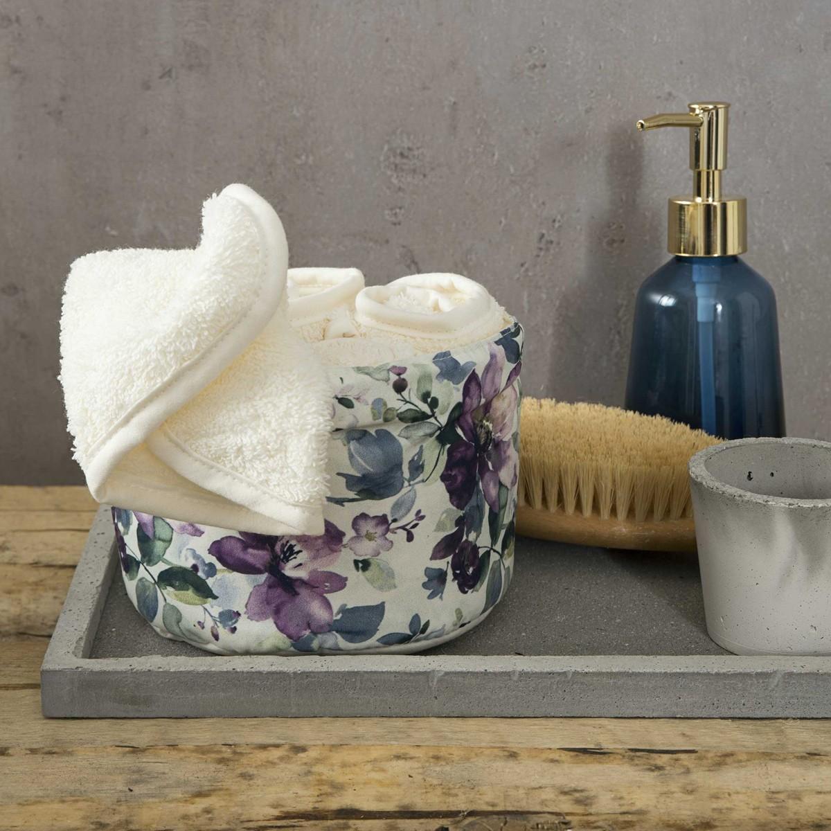 Πετσέτες Δώρου (Σετ 4τμχ) Nima Towels Anemones