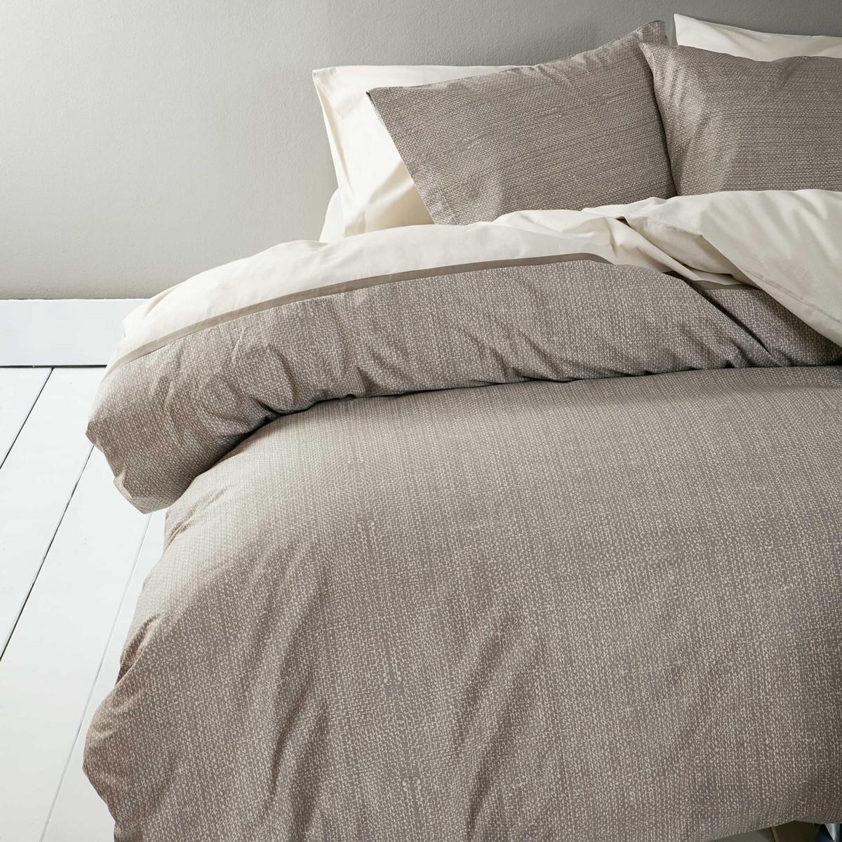 Παπλωματοθήκη Υπέρδιπλη (Σετ) Nima Bed Linen Carmelo