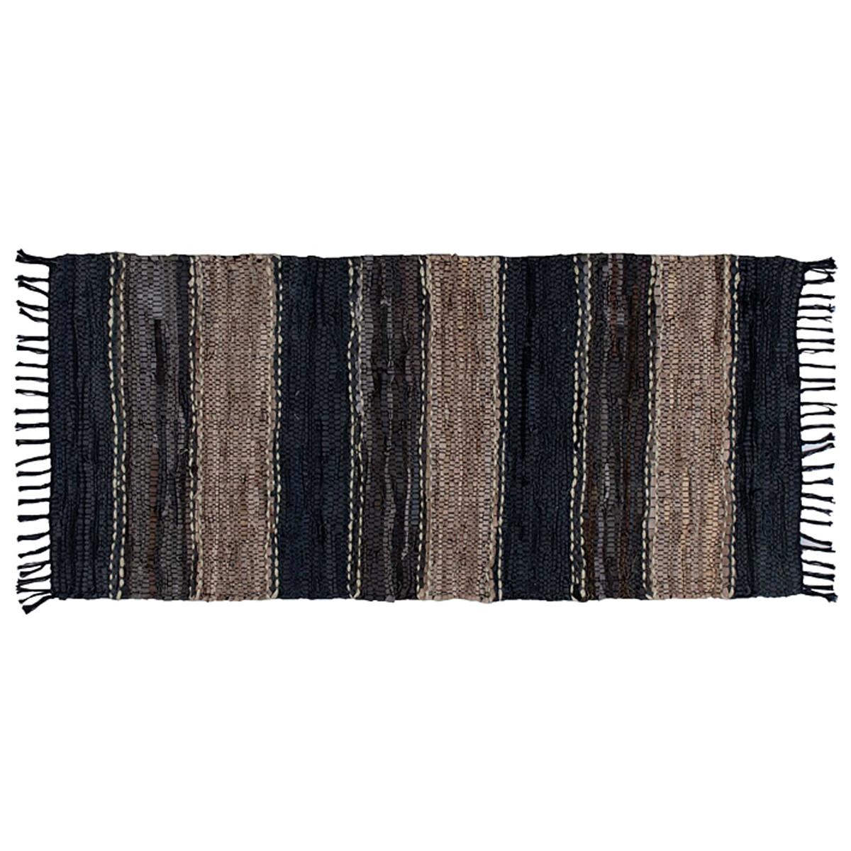 Δερμάτινο Χαλάκι (60×130) Nima Carpets Agrafa 77779
