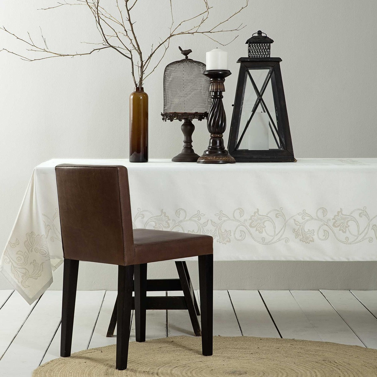 Τραπεζομάντηλο (165x265) Nima Table Linen Elodie Ivory