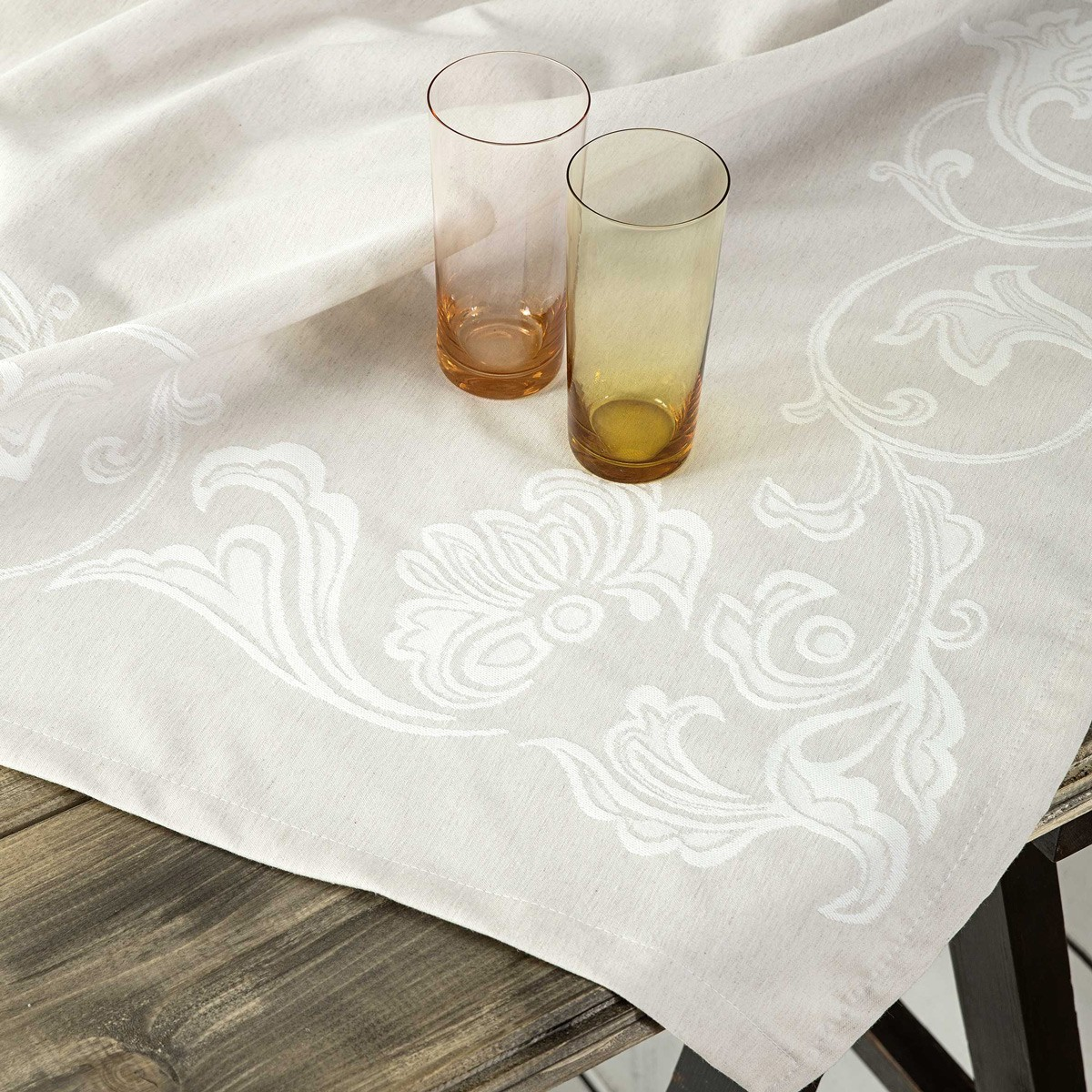Τραπεζομάντηλο (165x265) Nima Table Linen Elodie Beige