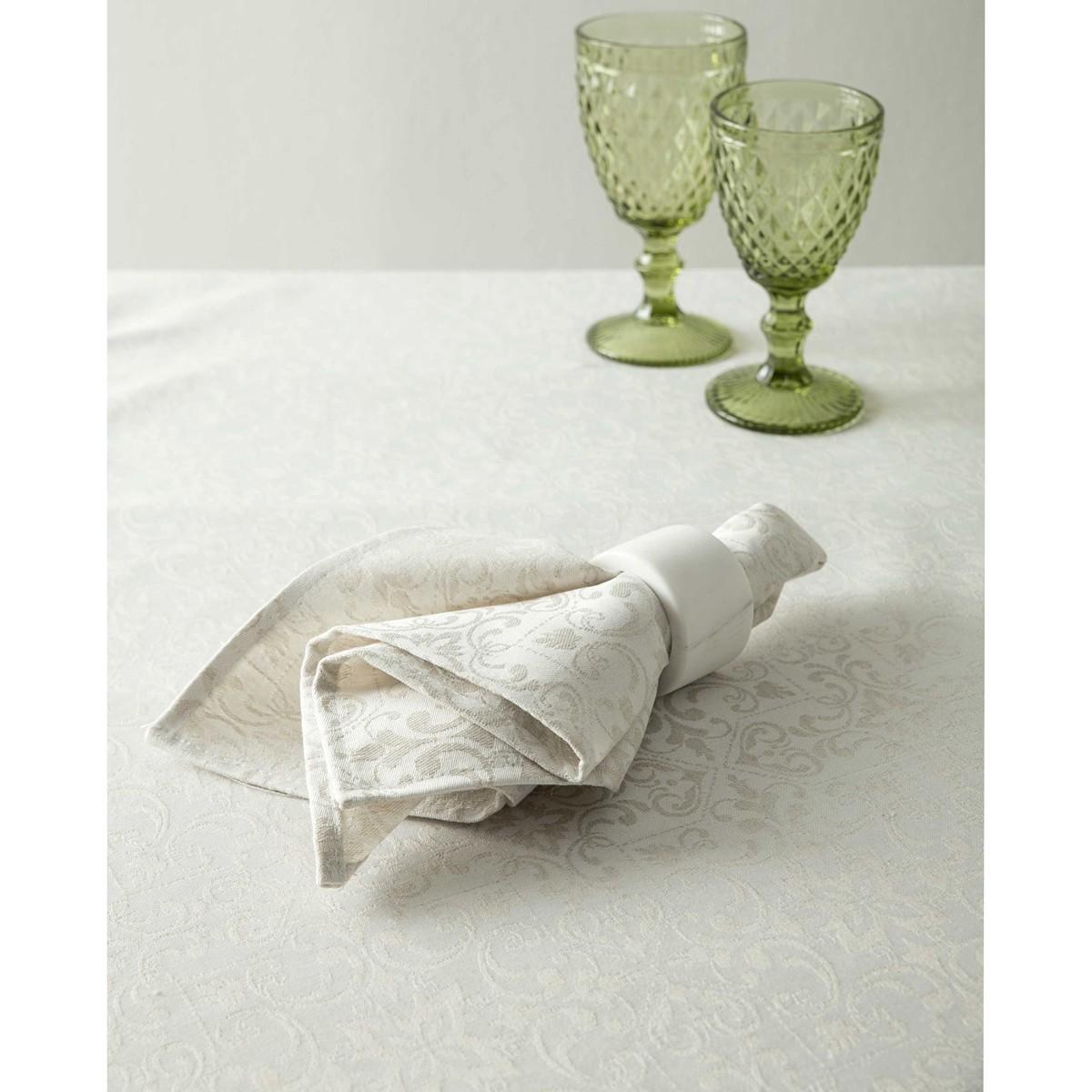 Τραβέρσα Nima Table Linen Albero Off White