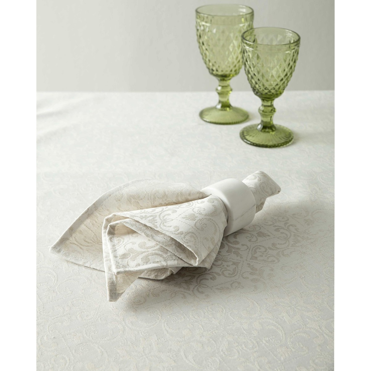 Πετσέτες Φαγητού (Σετ 4τμχ) Nima Table Linen Albero Off White