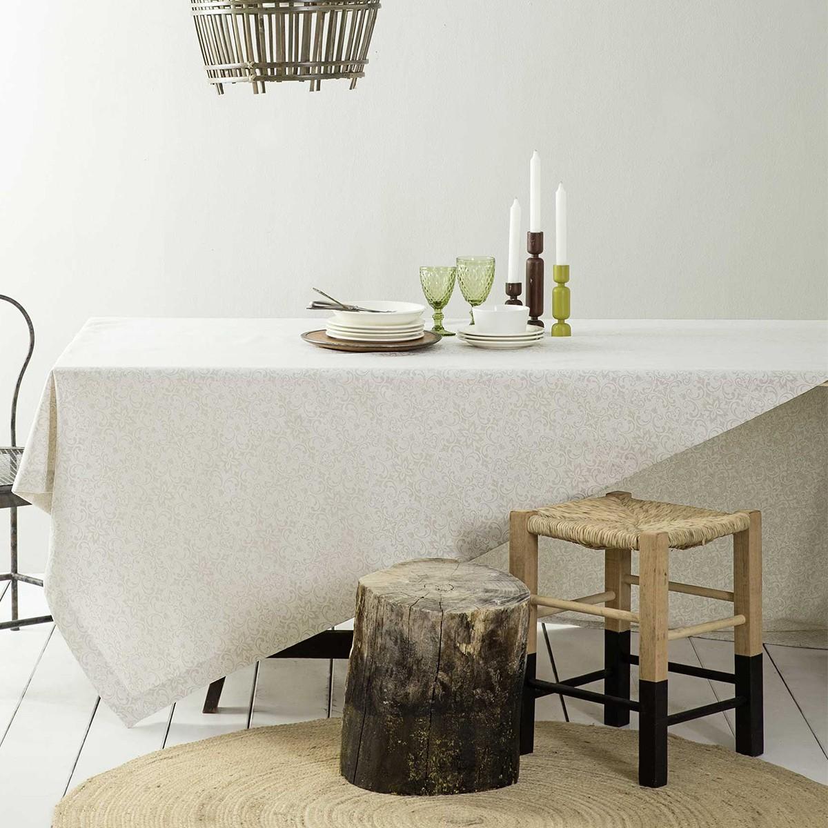 Τραπεζομάντηλο (165x310) Nima Table Linen Albero Beige