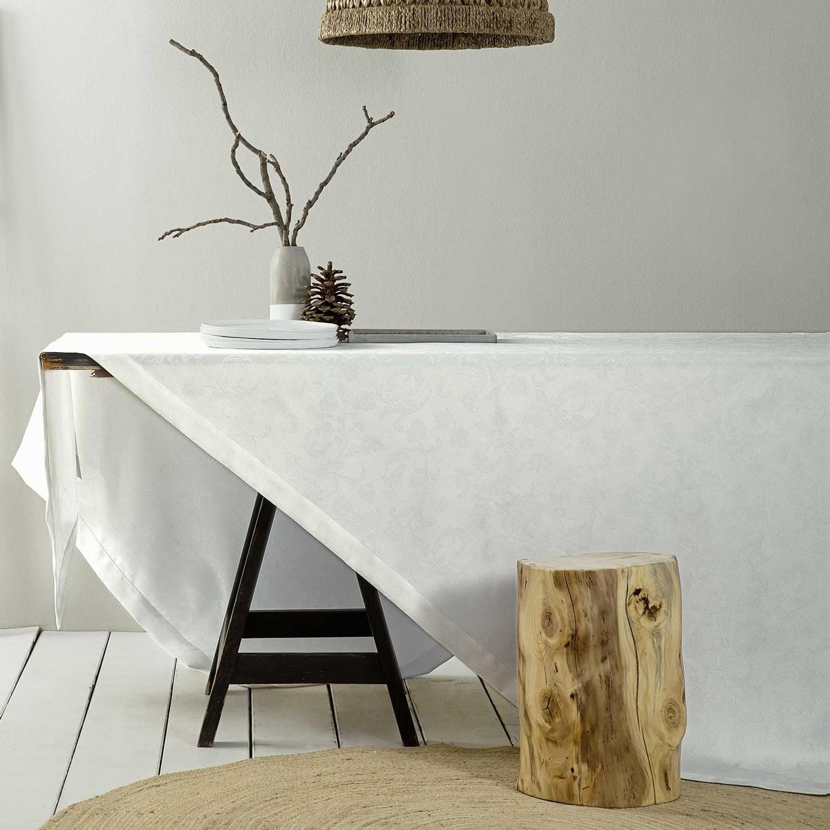 Τραπεζομάντηλο (165x310) Nima Table Linen Goia Off White