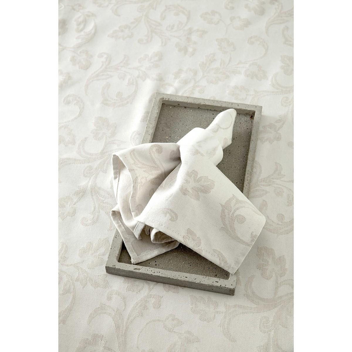 Πετσέτες Φαγητού (Σετ 4τμχ) Nima Table Linen Goia Beige