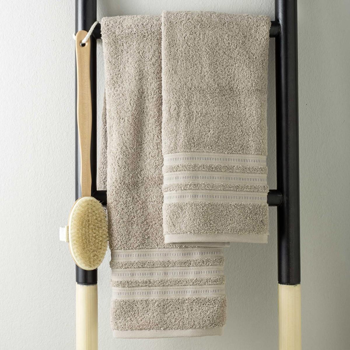 Πετσέτες Μπάνιου (Σετ 3τμχ) Nima Towels Naturo
