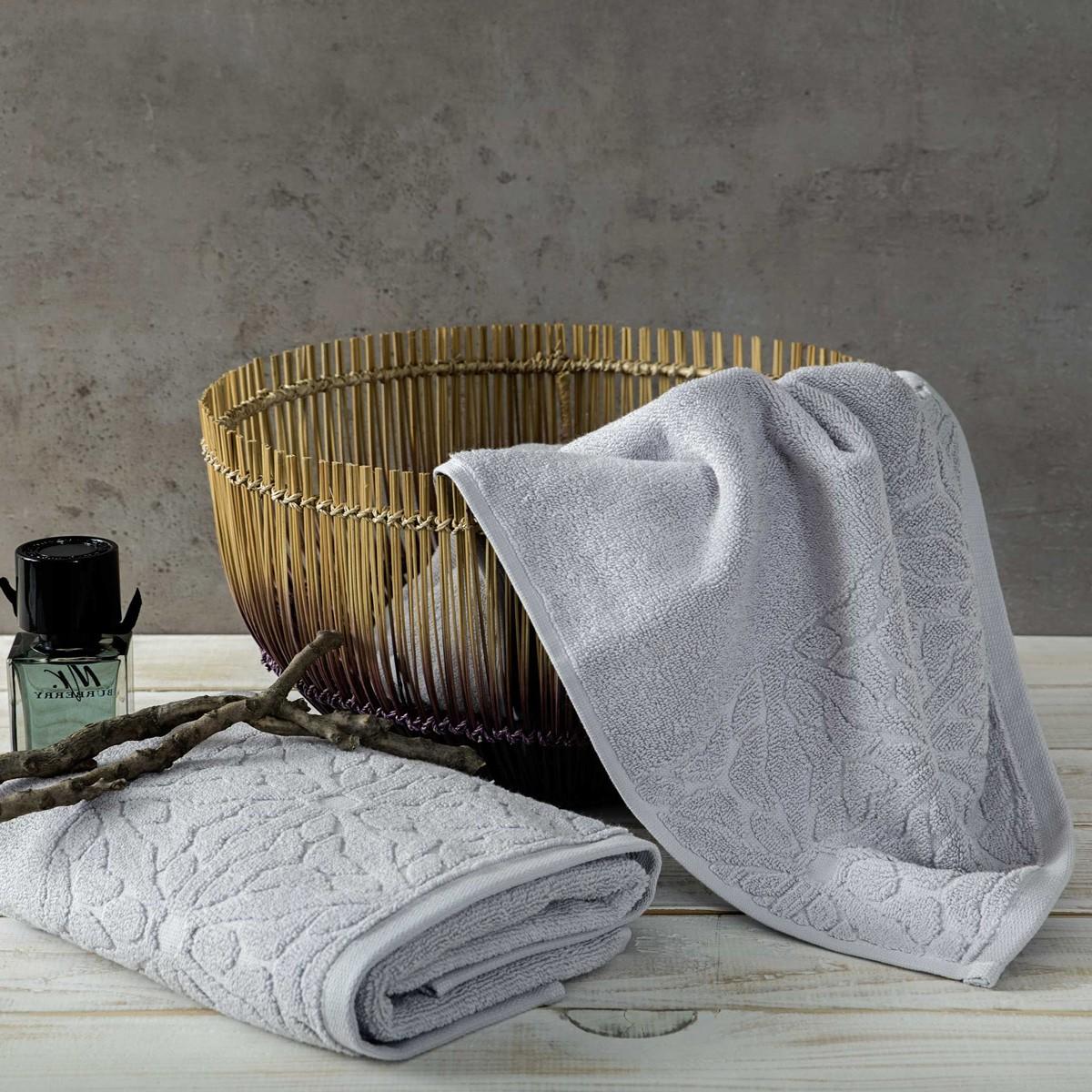 Πετσέτες Μπάνιου (Σετ 3τμχ) Nima Towels Illium