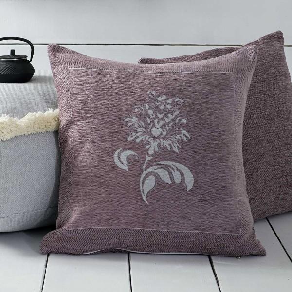 Διακοσμητική Μαξιλαροθήκη (50x50) Nima Throws Gratia Lilac