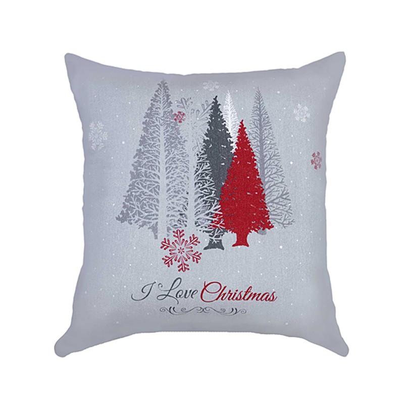 Χριστουγεννιάτικη Μαξιλαροθήκη Nima Snowfall home   χριστουγεννιάτικα   χριστουγεννιάτικα μαξιλάρια