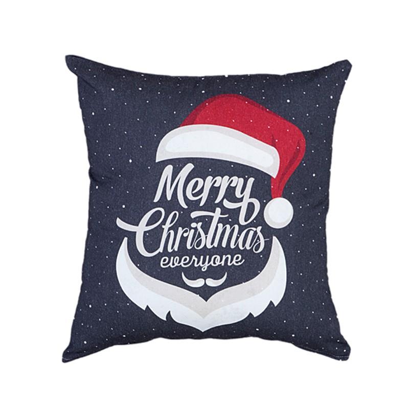 Χριστουγεννιάτικη Μαξιλαροθήκη Nima Merry X-mas home   χριστουγεννιάτικα   χριστουγεννιάτικα μαξιλάρια