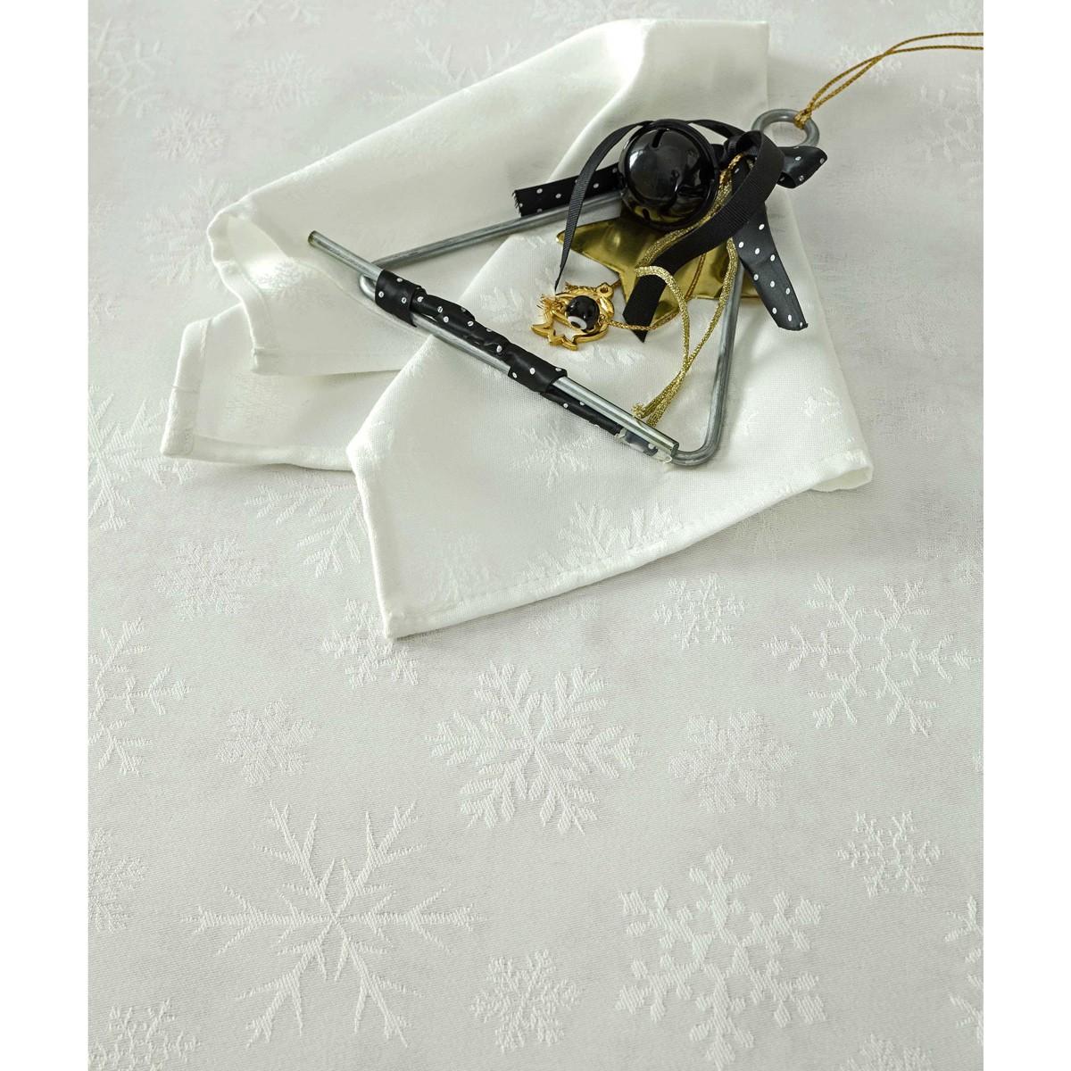 Χριστουγεννιάτικο Τραπεζομάντηλο (165×310) Nima Noel Off White