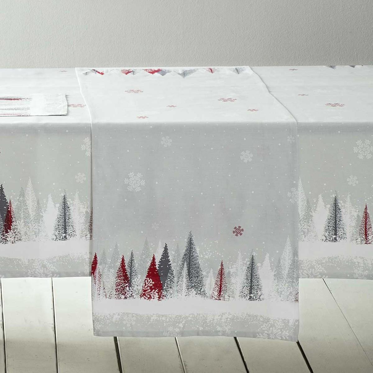 Χριστουγεννιάτικη Τραβέρσα Nima Snowfall home   χριστουγεννιάτικα   χριστουγεννιάτικες τραβέρσες