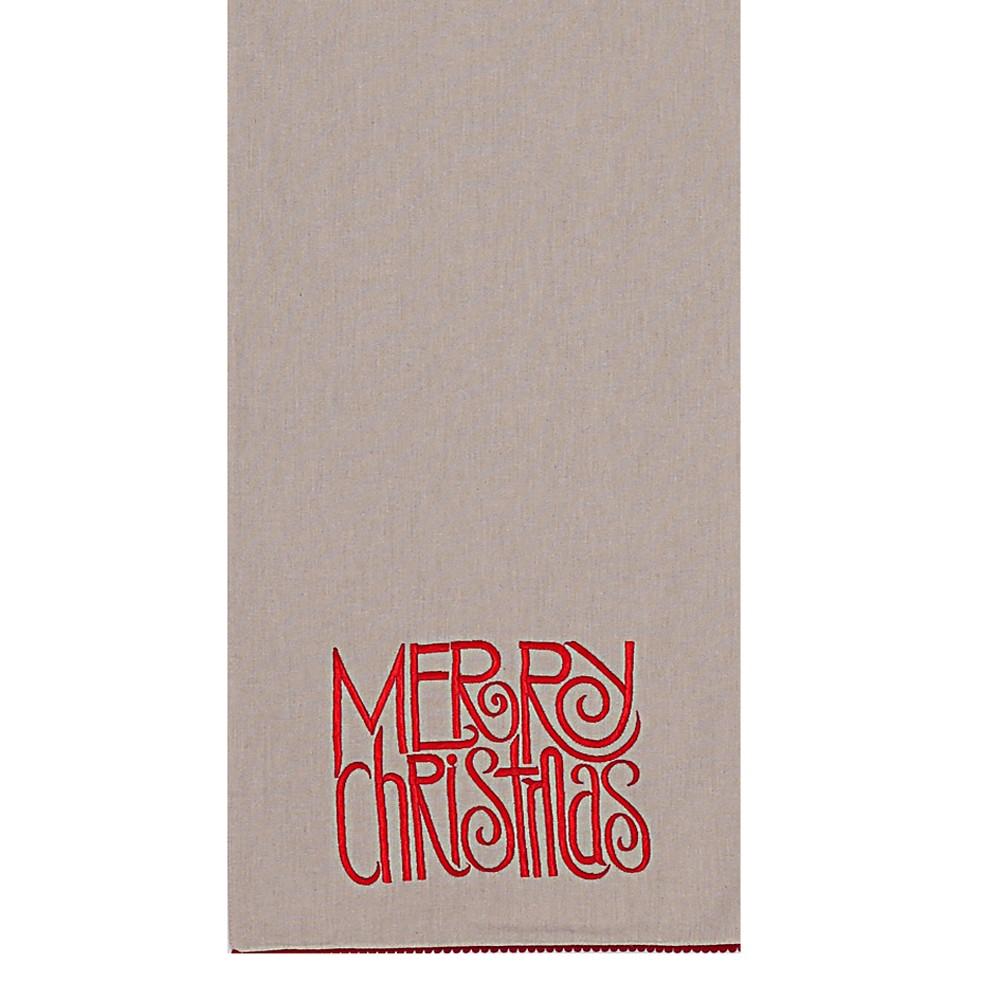 Χριστουγεννιάτικη Τραβέρσα Nef-Nef Merry X-Mas 17