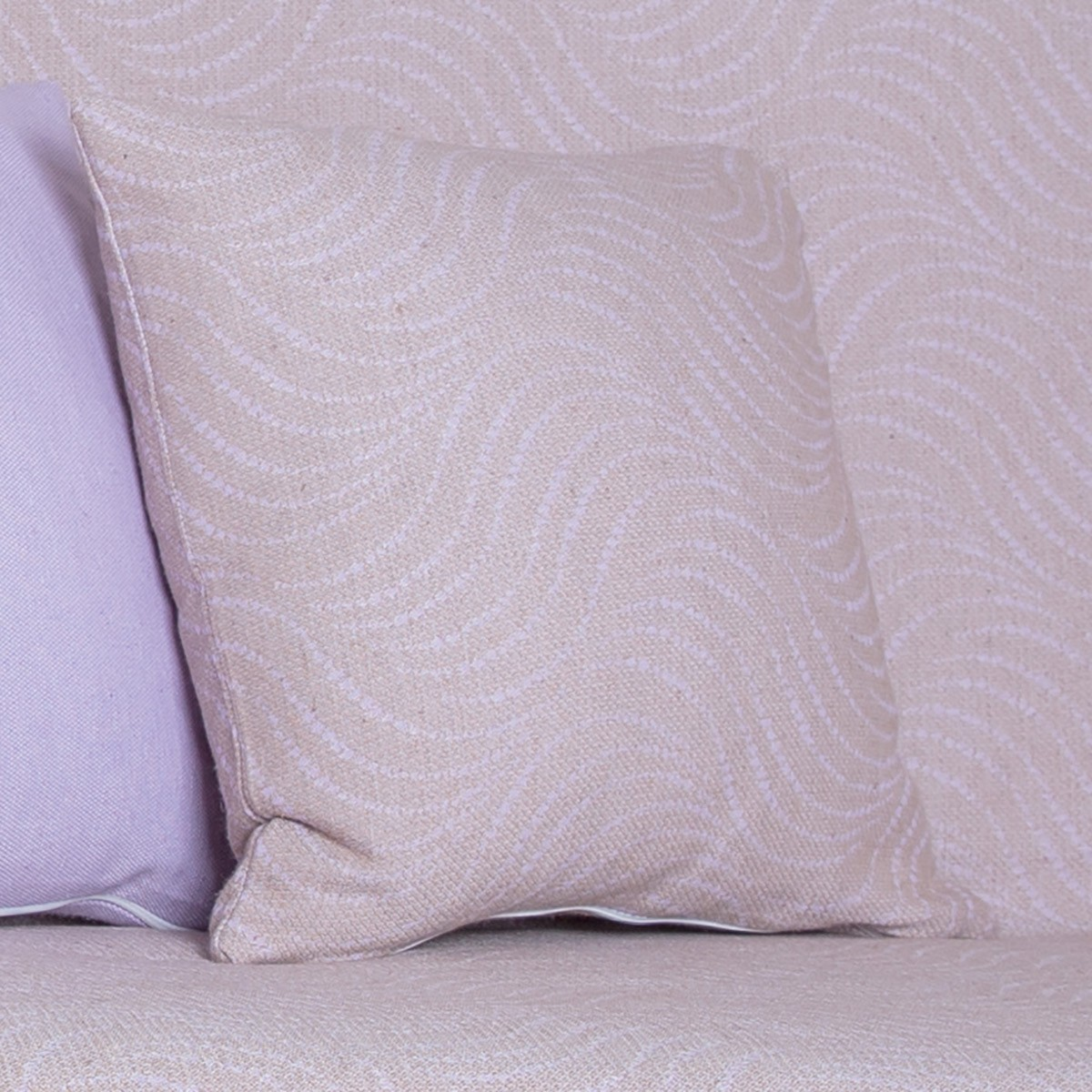 Διακοσμητική Μαξιλαροθήκη Lorenzo Santaniello Waves Lilac