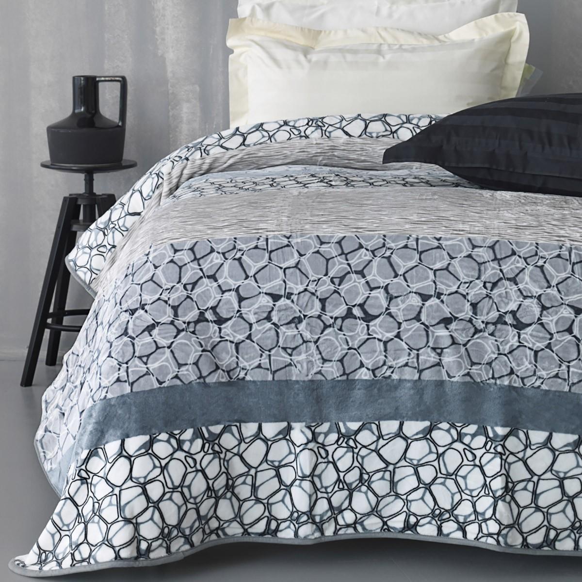 Κουβέρτα Fleece Υπέρδιπλη Palamaiki Silky 249
